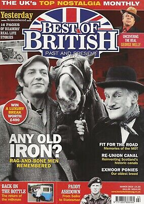 Best Of British Past & Present Magazine March 2019