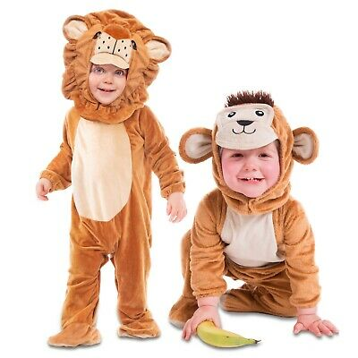 Deluxe Baby Toddler Animal Zoo Farm Fancy Dress Costume Sizes 6 12 18 24 months