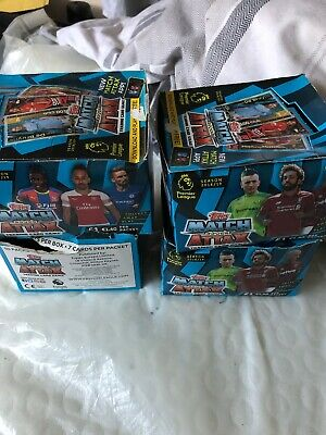 match attax 18/19 Bundle Of 30 Card Mixed! Includes 5 Shinys