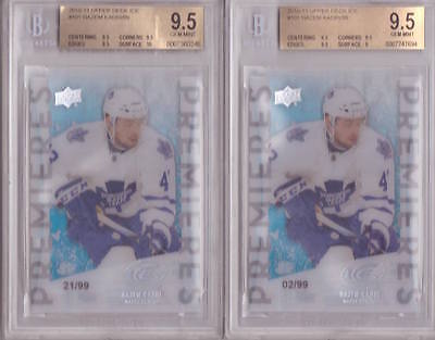 (QTY) 2010-11  ICE RC Nazem Kadri /99 9.5bgs