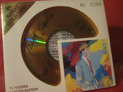 """Dcc Gzs-1073 Frank Sinatra """"Duets Ii"""" (Limited/Analogue Dcc 24Kt Gold-Cd/Sealed)"""