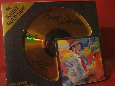 """Dcc Gzs-1053 Frank Sinatra """" Duets """" (Limited/24 Kt Gold Compact Disc/Sealed)"""