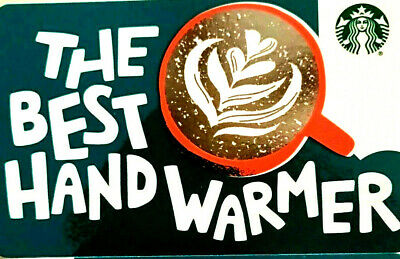 New Starbucks The Best Hand Warmer Gift Card Rechargeable !