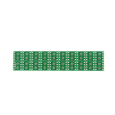 20X  SOP8 SO8 SOIC8 SMD to DIP8 Adapter PCB Board Convertor Double SidesPS