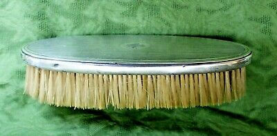 """Antique Tiffany &Co Sterling Silver 7"""" Brush, Maker (#21604) and Order (#1468)"""