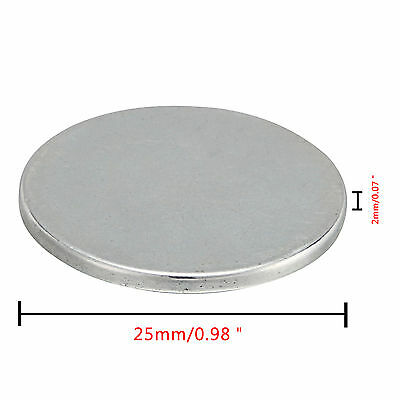 5/10pcs 25mmx2mm Super Strong Round Disc Magnets Rare-Earth Neodymium Magnet N35