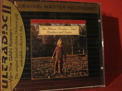 """Mfsl-Udcd 617 Allman Brothers """"Brothers And Sisters""""(Gold-Cd/Usa/Factory Sealed)"""