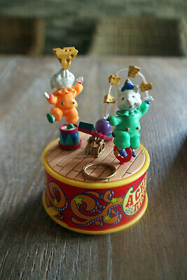 Spieluhr Enesco a cheese Ring Circus Originalkarton c