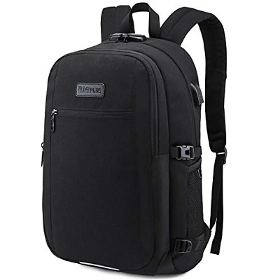 Laptop Backpack,Upgraded 17 Inch Business Travel Anti-Theft Rucksack with USB