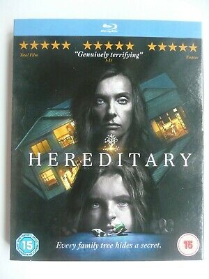 Hereditary (Blu-ray, 2018) Ari Aster, Toni Collette, New and Sealed + slip cover