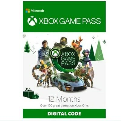 Xbox One 12 Months Game Pass