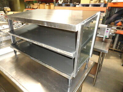 Hatco GRPWS-3618D Countertop Pass-Thru Warmer with Double Slanted Shelves