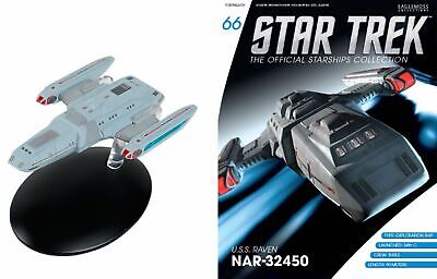 Star Trek Official Starship Collection #66 U.S.S. Raven FREE SHIPPING