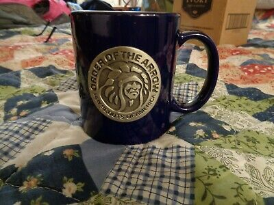 BOY SCOUTS OF AMERICA CERAMIC COFFEE CUP, MUG. Order of the Arrow,Indian