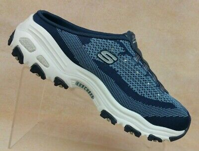 02687ffb67d NEW WOMEN'S SKECHERS D'LITES - A NEW LEAF (11957) Navy and white 56X ...