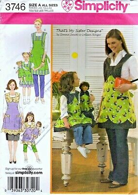 MAKE MOM~DAUGHTER~DOLL TUNIC-LEGGINGS~DRESS SEWING PATTERN FITS AMERICAN GIRL