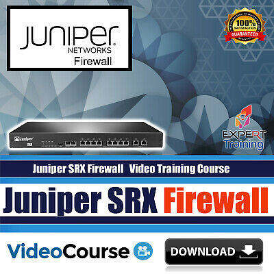 Juniper SRX JUNOS Firewall Practical LAB Video Training Course DOWNLOAD