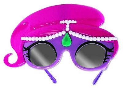 Sun-Staches Kids Shimmer and Shine Pink Hair New SG2561 Party Costumes