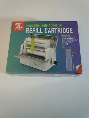 """Xyron 510 Repositional Adhesive Refill Cartridge 5"""" inch 18 ft."""