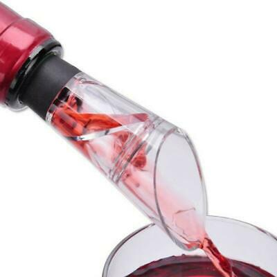 Quality White Red Wine Aerator pour Spout Bottle Pourer Aerating Decanter X5G0