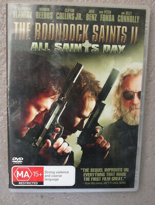 The Boondock Saints 11. All Saints Day. DVD Video Region 4
