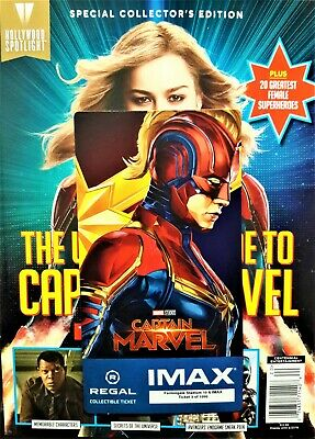 Captain Marvel IMAX Regal Collectible Ticket ! 3 Of 1,000 ! Week 2 !