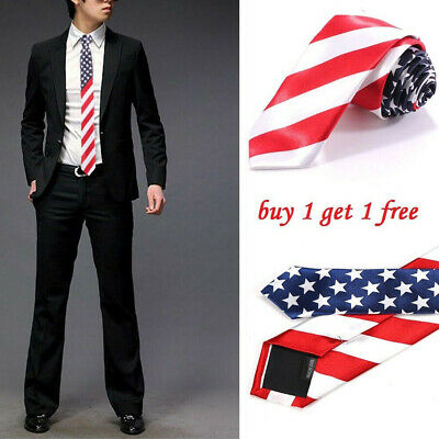Men's stripe Tie Necktie  hin Plain Satin Wedding Party Necktie Prom Gift