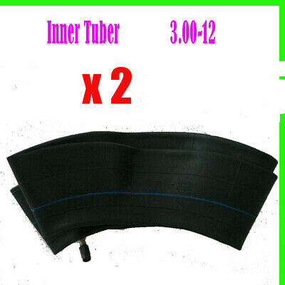 """Pair 12"""" Inch Rear Tyre Tire Tube 3.00-12 80/100-12 inch for dirt bike trail pit"""