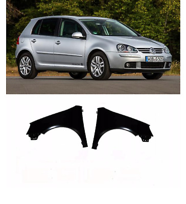 Vw Golf Mk5 2004-2009 Front Wing Pair Left Right Primed New High Quality