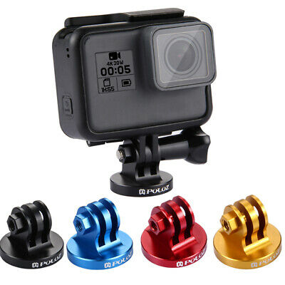 PULUZ PU145 Aluminum Tripod Mount Adapter+Screw for Action Cameras Gopro New