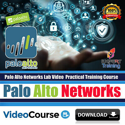 PALO ALTO FIREWALL Video Training Course DOWNLOAD - £3 50 | PicClick UK