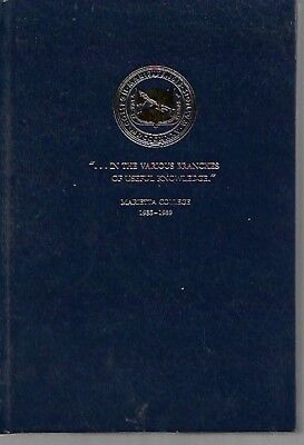 OH - History of MARIETTA COLLEGE Ohio 1935 to 1989 In The Various Branches of Us