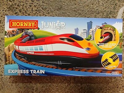 HORNBY JUNIOR R1215 Express Train Set Battery Operated Age 4