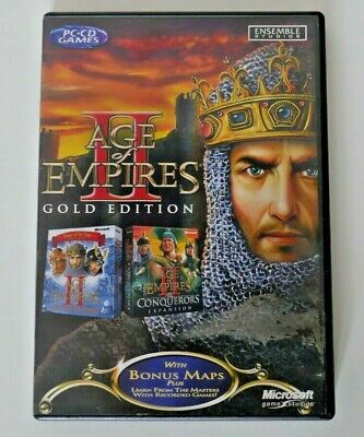 0 A D  - Strategy RPG PC Mac Game Software (Age of Empires 2 3 II