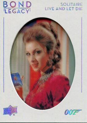 James Bond Collection Bond Legacy Chase Card BL-17 Jane Seymour as Solitaire