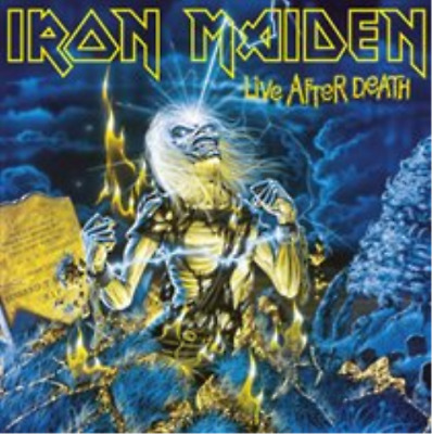"Iron Maiden-Live After Death (UK IMPORT) Vinyl / 12"" Album NEW"
