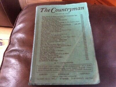 THE COUNTRYMAN.    Summer 1942 (Three shillings quarterly)   Vintage edition