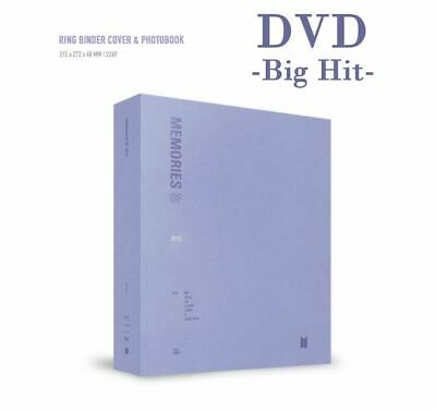 [BTS] - BTS MEMORIES OF 2018 DVD Photobook+4Discs+Paperframe+Pre Order Benefit