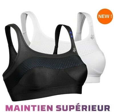 Lateral Reglage Brassiere Blanc Dos Pilate 100c Croise Yoga Sport Yby76gf