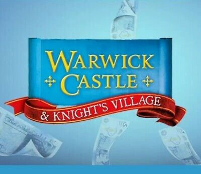 2x Warwick Castle Tickets 19th July 2019