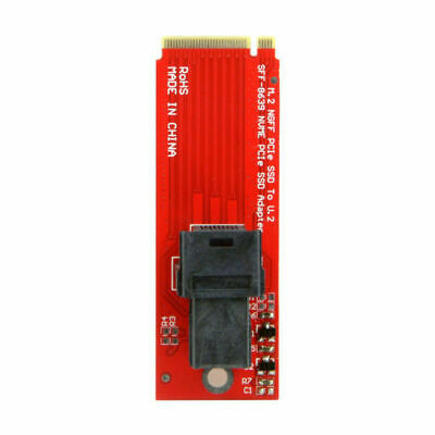 U.2 SFF-8639 to M.2 M-key NVME PCIe Adapter for Mainboard Intel SSD 750 M.2