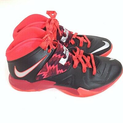 premium selection eaa6d 7efb9 NIKE ZOOM SOLDIER Vii 7 Gs Lebron James Pure Platinum Wolf ...