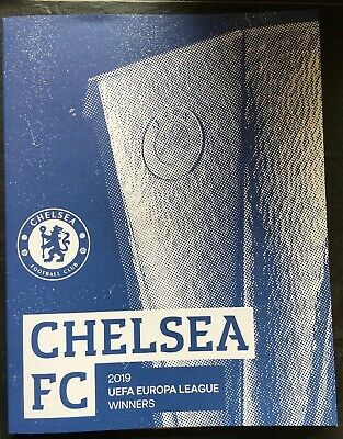 2019 UEFA Europa League Final Programme Chelsea Winners Edition WITH POSTER