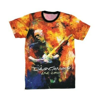 DAVID GILMOUR Rattle That Lock OFFICIAL 2016 Tour T-Shirt PROG Psych PINK FLOYD
