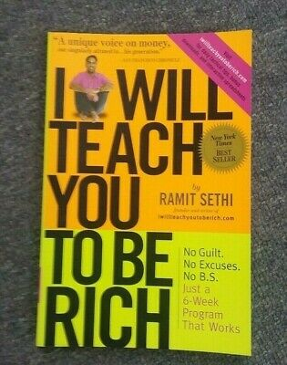 I Will Teach You To Be Rich by Ramit Sethi Paperback