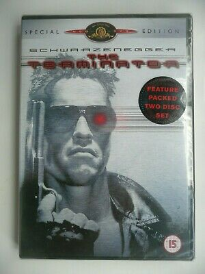 The Terminator (DVD, 2001, 2-Disc Special Edition) James Cameron, New And Sealed