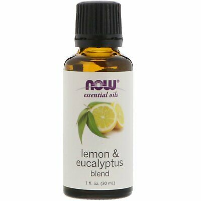 Now Foods  Essential Oils  Lemon   Eucalyptus Blend  1 fl oz  30 ml