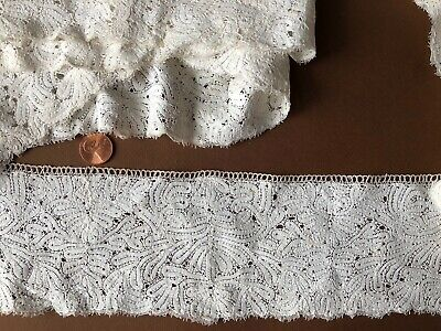 Antique Italian or East European bobbin lace - long yardage  COLLECTOR