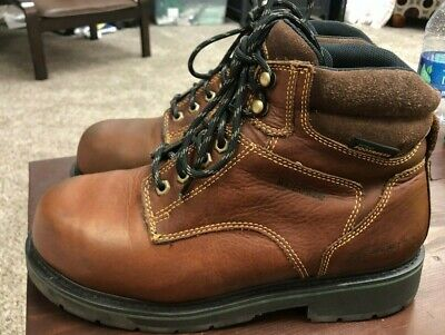 d80d560e690 HYTEST WORK BOOTS Steel Toe Tufgum Soles Cherry Red Leather Vintage ...