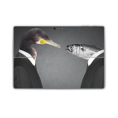 Talking Heads Cormorant Fish Vinyl Skin Sticker Wrap Cover to fit Surface Pro